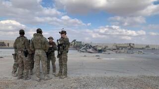 US Iran Attack Purple Hearts