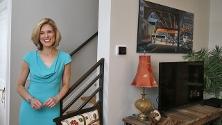 Home Tour: WCPO's Kristyn Hartman surrounds herself with pieces of her past