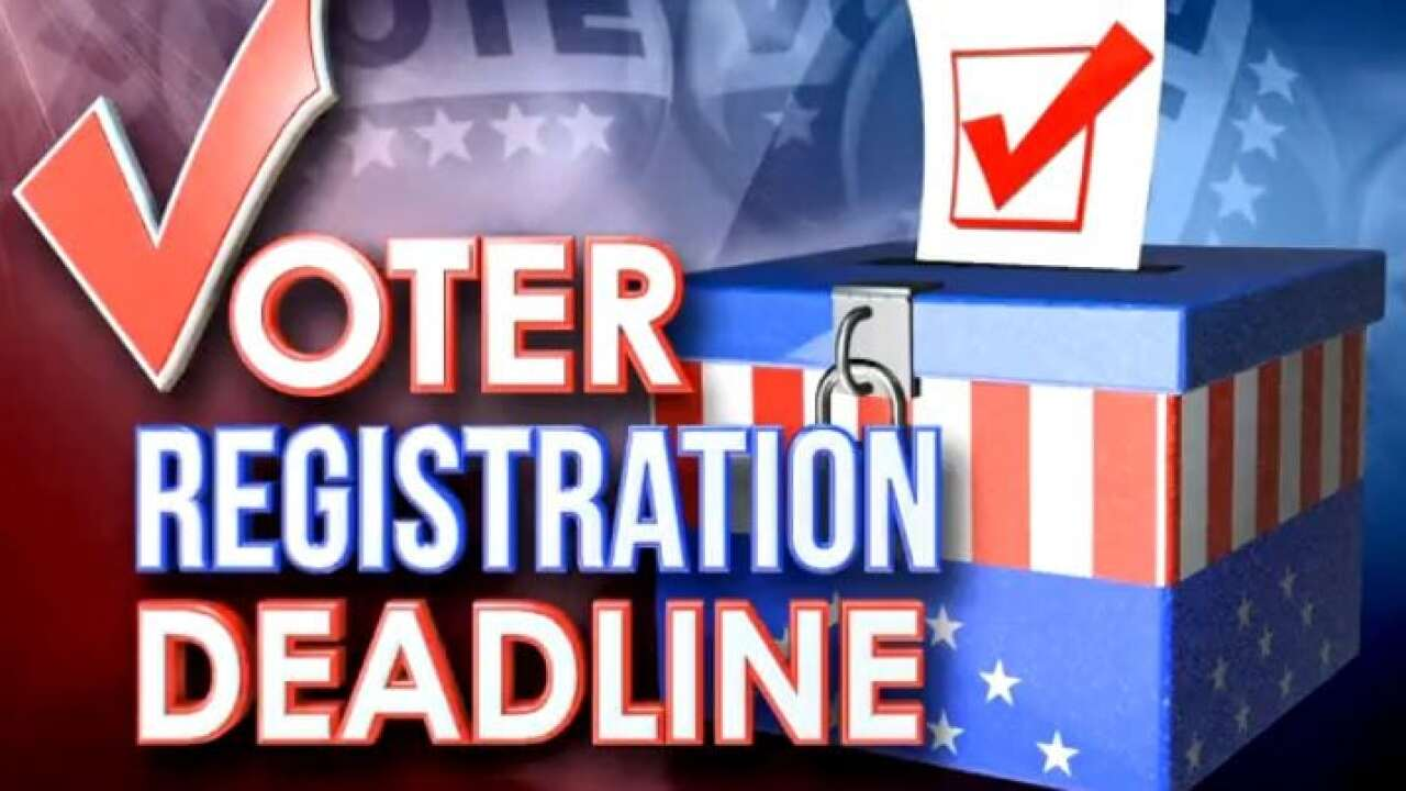 Voter registration deadline approaching for December runoffs