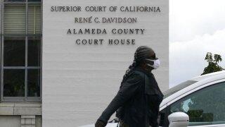 Virus Outbreak California Alameda