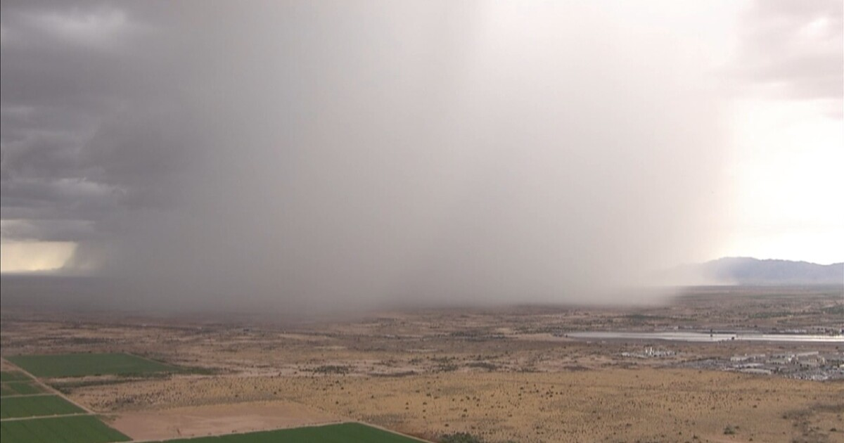 Live Updates Storms Hit The Valley Other Parts Of Arizona 9 25