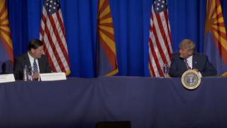 Trump in Phoenix, 8-14-20