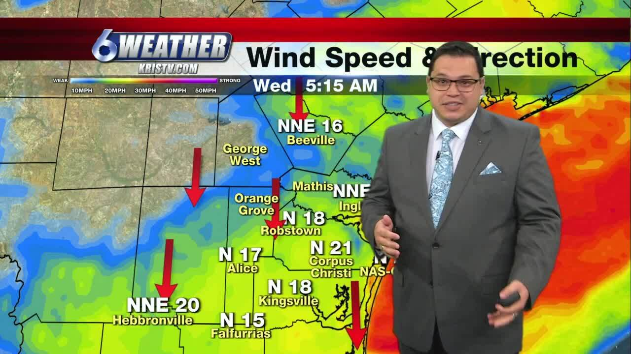 Juan Acuña's weather forecast for Wednesday Jan. 27, 2021