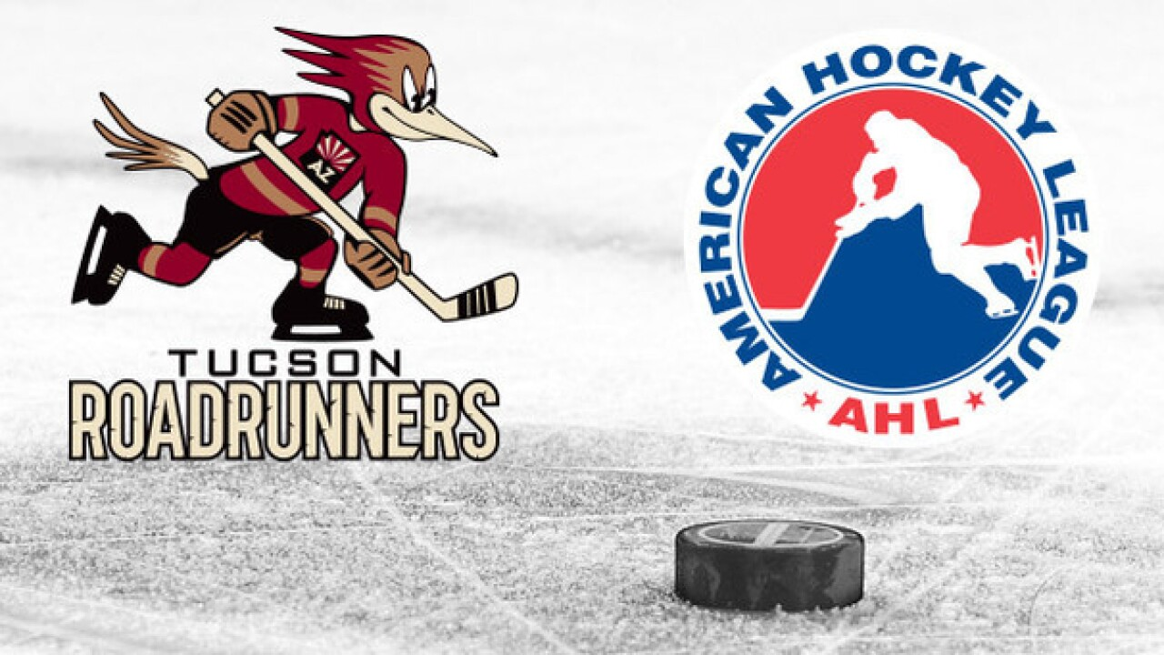 Tucson Roadrunners to begin five game homestand at TCC