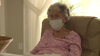Hobe Sound resident Regina Dengel, who turns 100 on Feb. 9, has not been able to get a COVID-19 vaccine.jpg