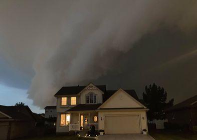 Millard storm photo