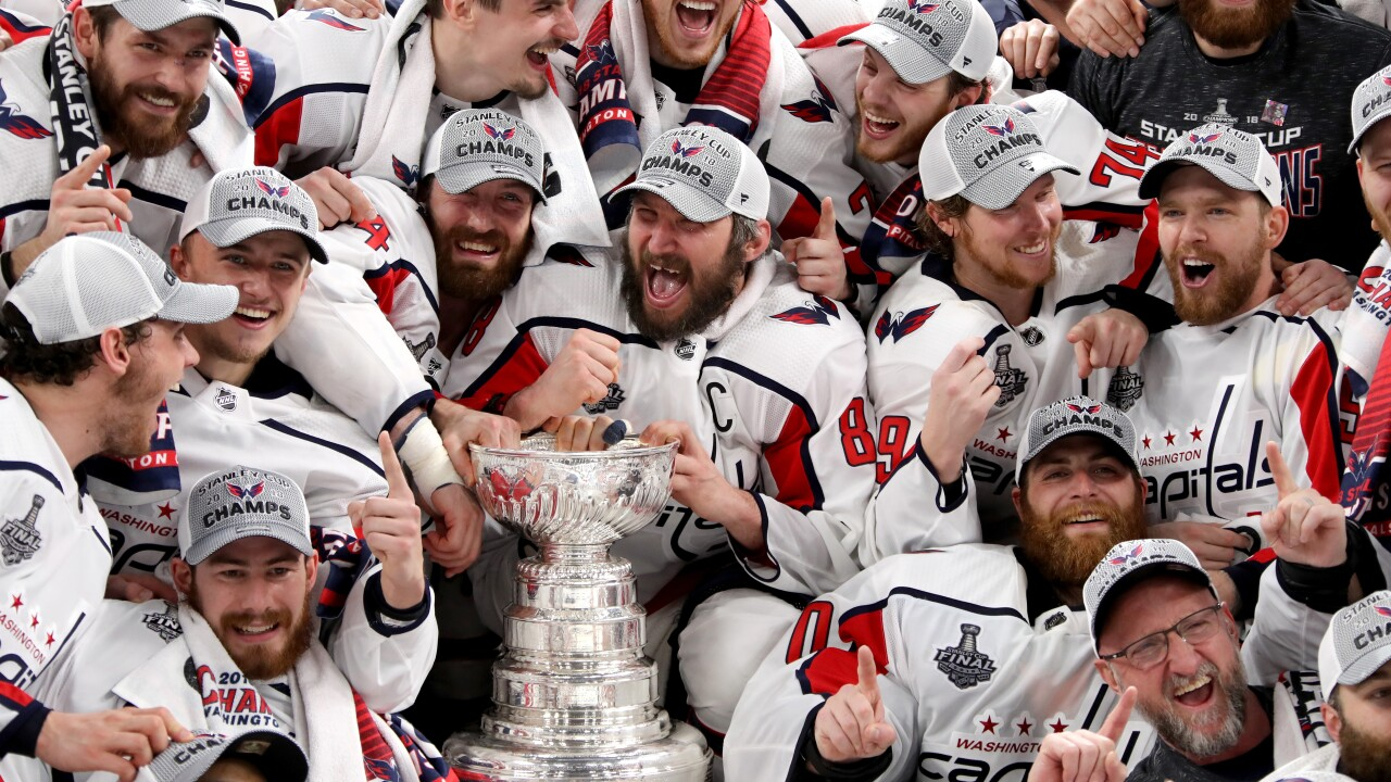 Capitals complete Cup quest, beat Vegas to win Washington's first Stanley Cup title