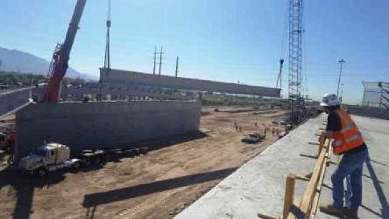 Next step in the process: bridge girders to be built on I-10/Ina Road