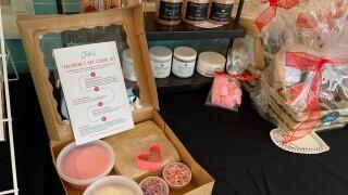 Valentine's Day cookie decorating kit