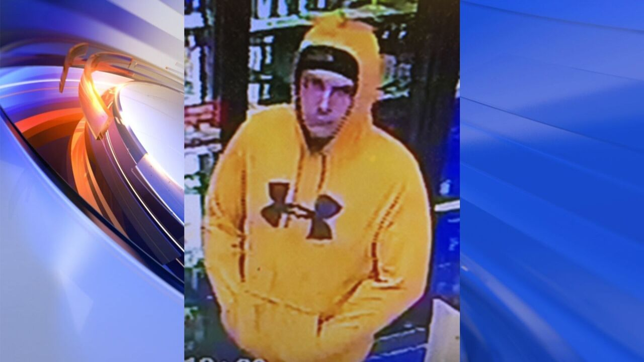 Police searching for suspect after convenience store robbed in Virginia Beach