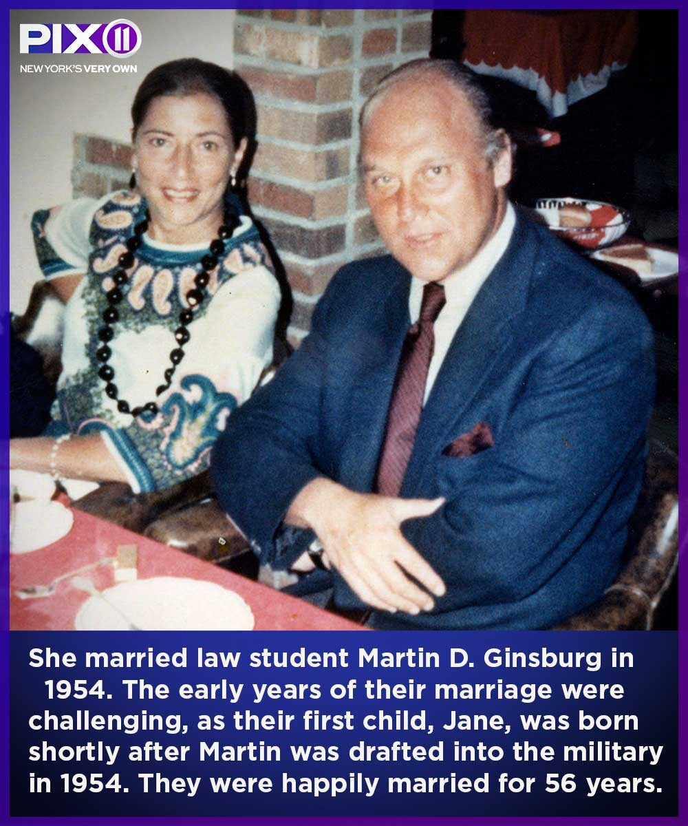 Ruth and Marty Ginsburg