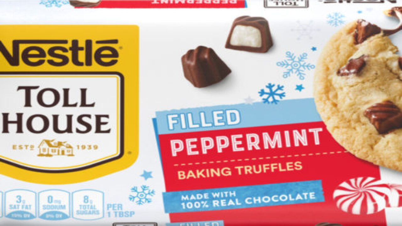 Nestlé Toll House Just Released Peppermint-filled Truffles For Holiday Baking
