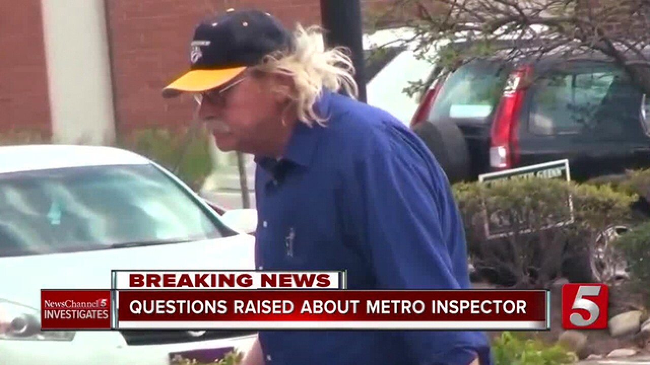 Metro Building Inspector Has Poor Work Record