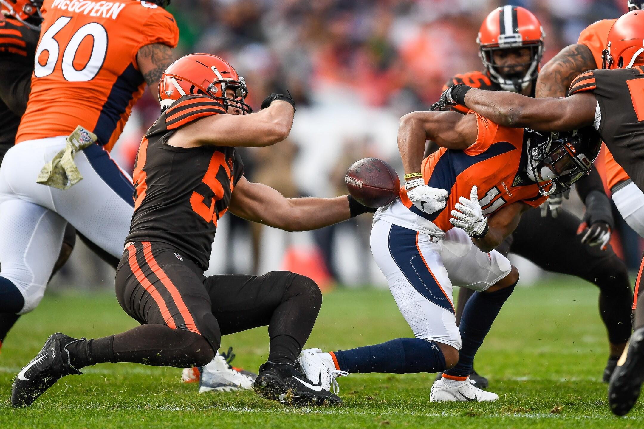 Cleveland Browns v Denver Broncos