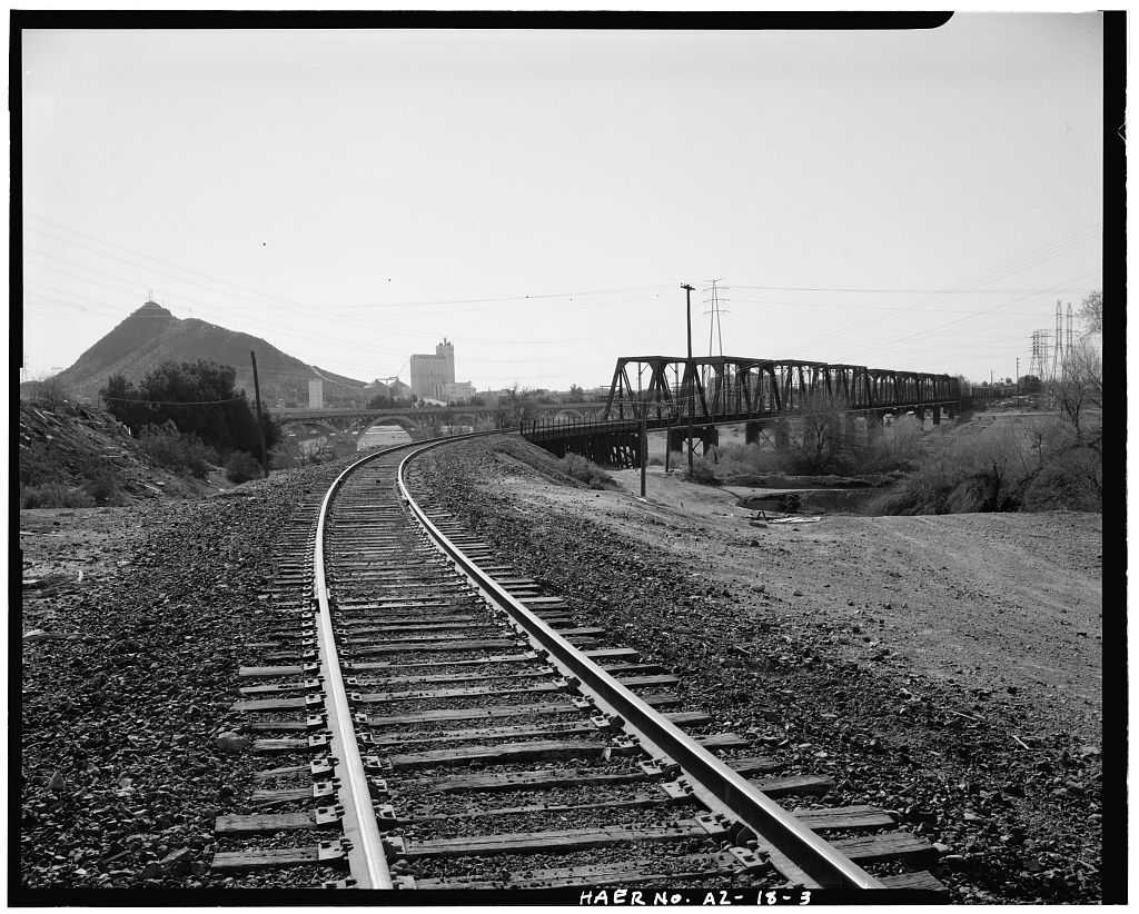 Historic pictures of railroad bridge
