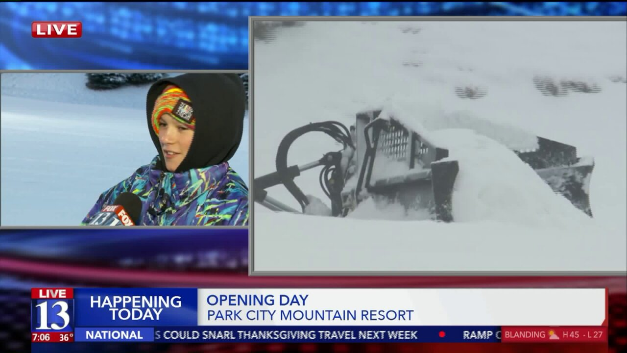 Park City Mountain Resort opens for 2019-20 season