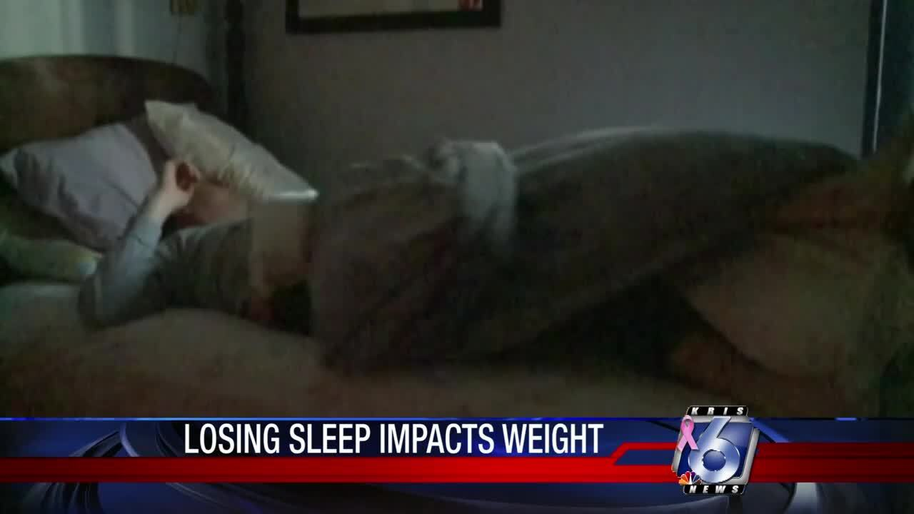 Sleep impacts weight