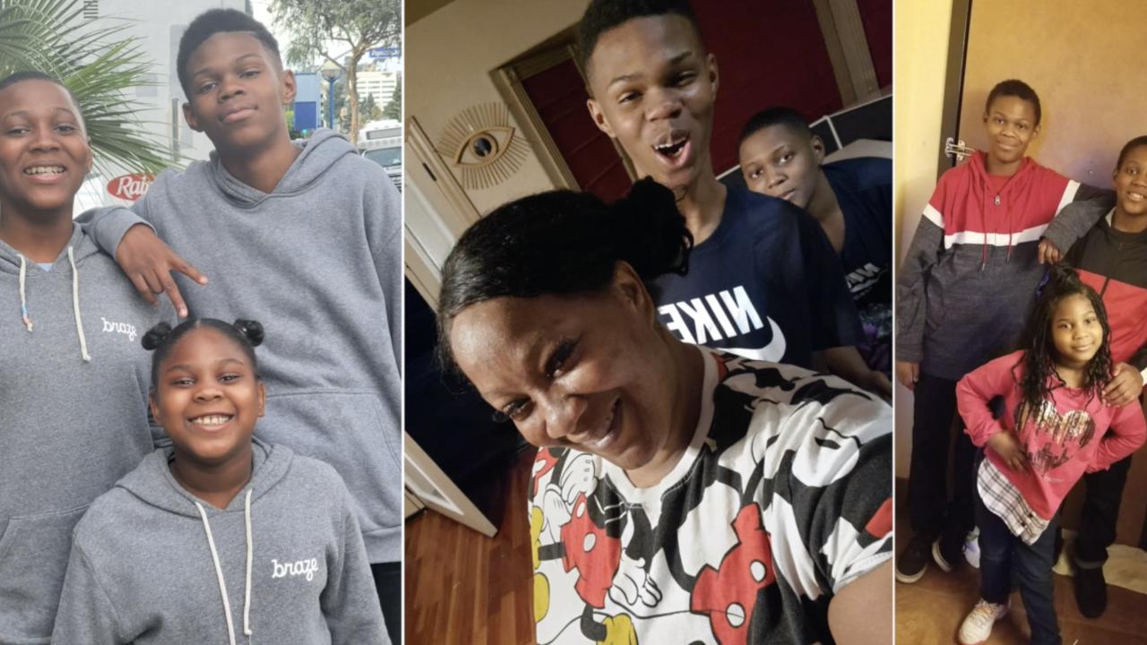 Shuntera Brown family