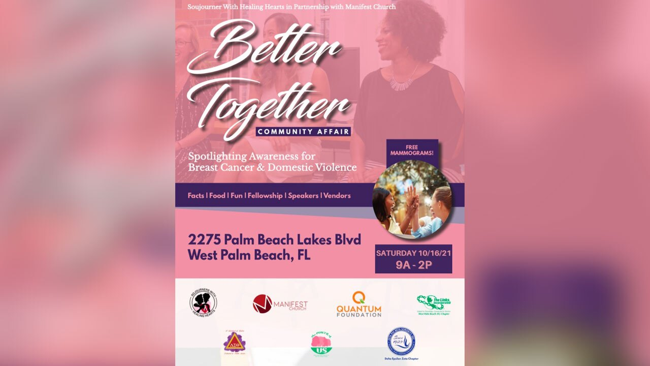 Sojourner's With Healing Hearts 'Better Together' event