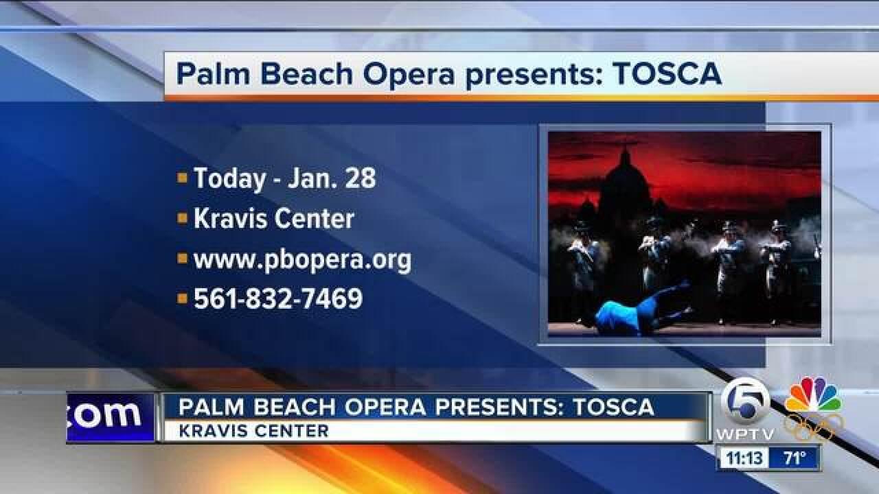 Palm Beach Opera presents Tosca