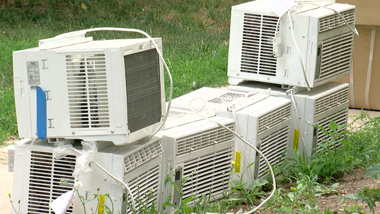 Apartment complex installs 100 window AC units after central ...