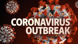 coronavirus outbreak graphic