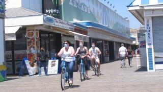 Virus Outbreak- NJ Beach Reopenings