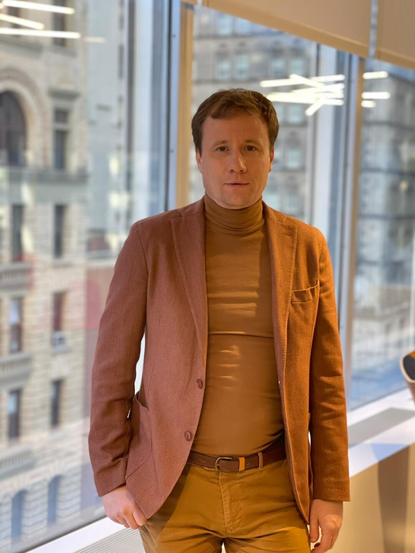 Pictured: CEO Yury Mosha
