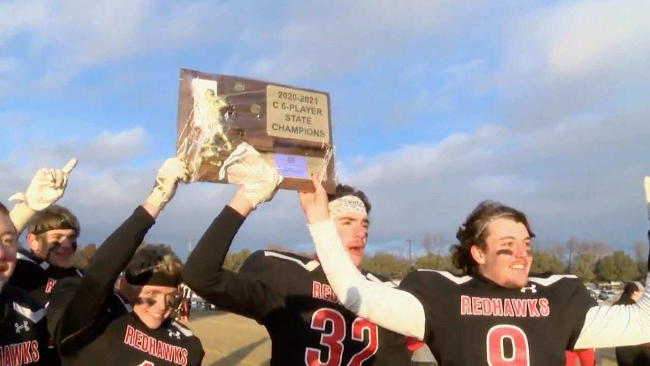 Froid-Medicine Lake 6-Man state champions
