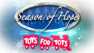Season of Hope and Toys for Tots logos for 2019.