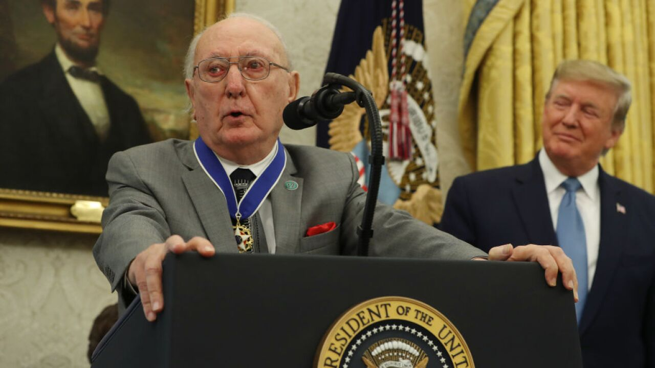 President Trump to honor NBA legend Bob Cousy with Presidential Medal of Freedom