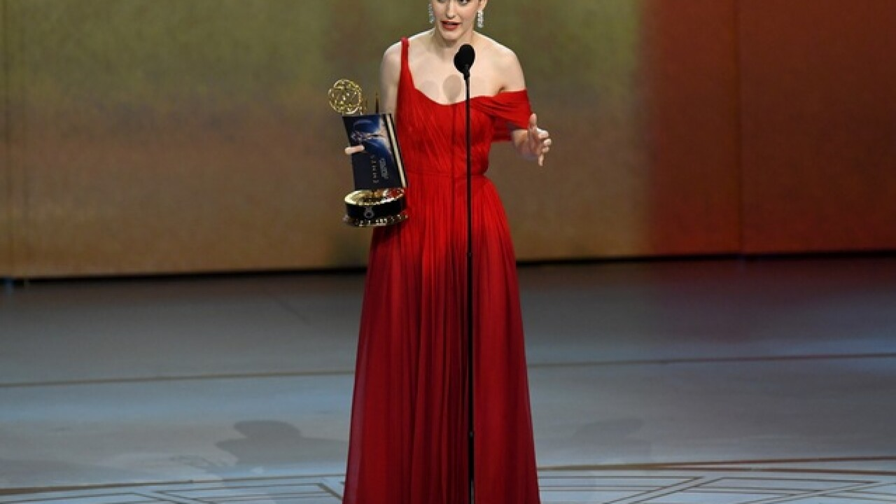 Milwaukee native Rachel Brosnahan wins Emmy, advocates for people to vote