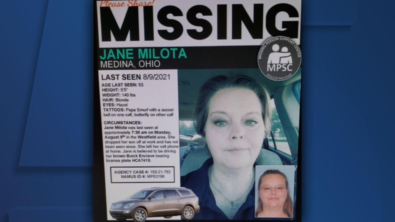 Missing Jane Milota