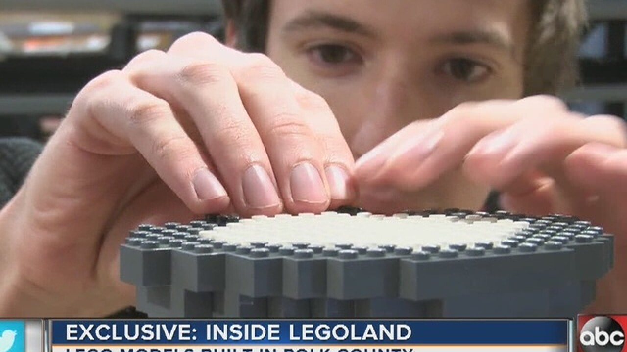 Legoland opens Lake Wales hub for lego models