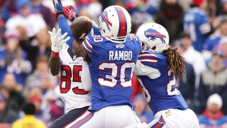 Former Buffalo Bills safety Bacarri Rambo arrested on rape charges