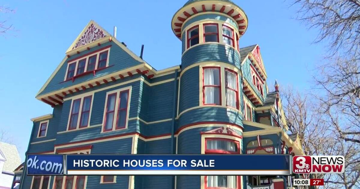 Two Historic Omaha Homes On The Market