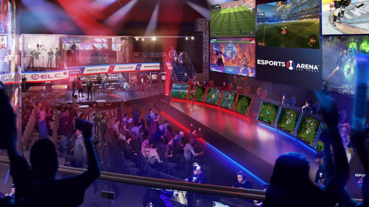 New Esports arena expected to be game changer