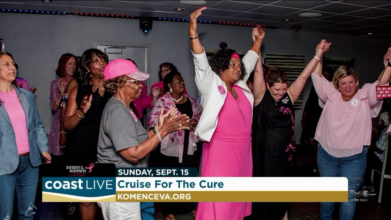 A breast cancer survivor shares her inspirational story on Coast Live