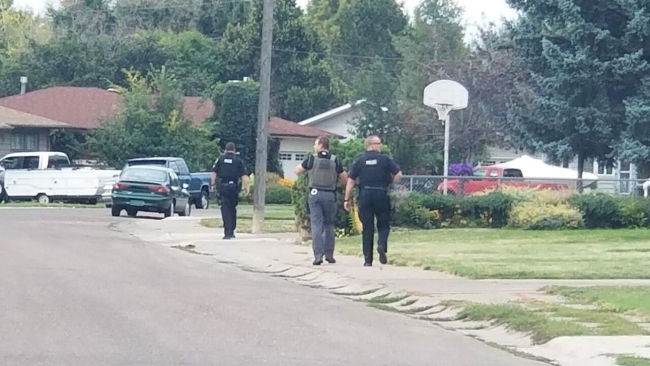 Large police presence in Riverview neighborhood