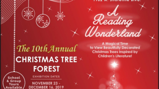 Local students have a say in the 10th annual Christmas Tree Forest