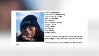 Missoula MEPA issued for 15-year-old girl