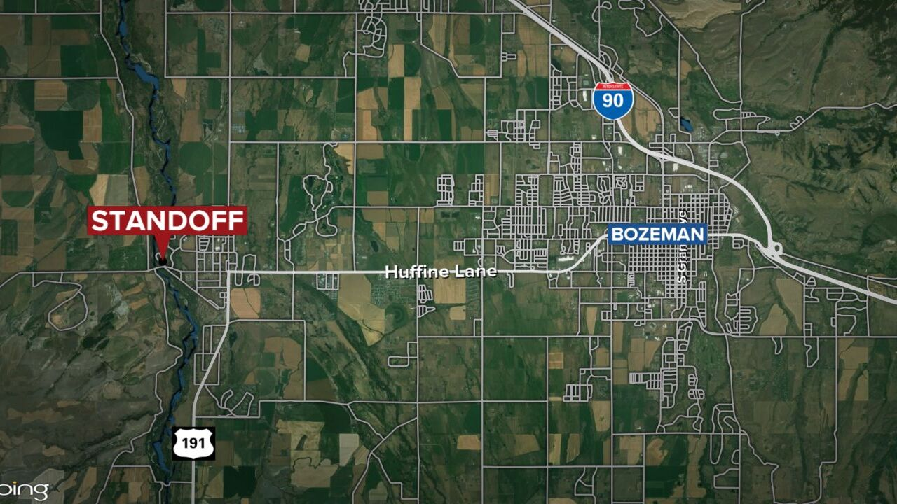 Armed person holding hostage in Gallatin County