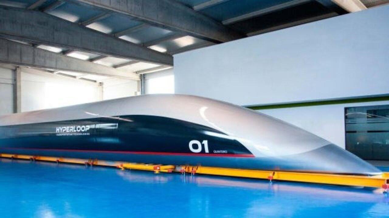 World's first full-scale Hyperloop passenger capsule revealed
