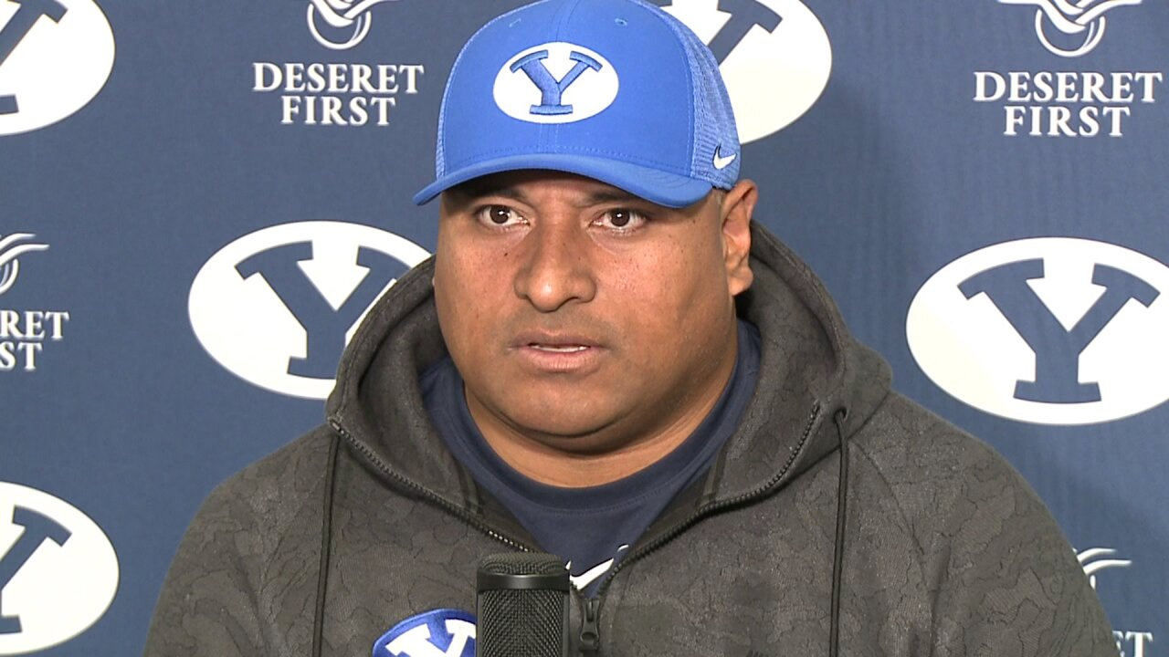 BYU Football extends Coach Kalani Sitake's contract through 2023 season