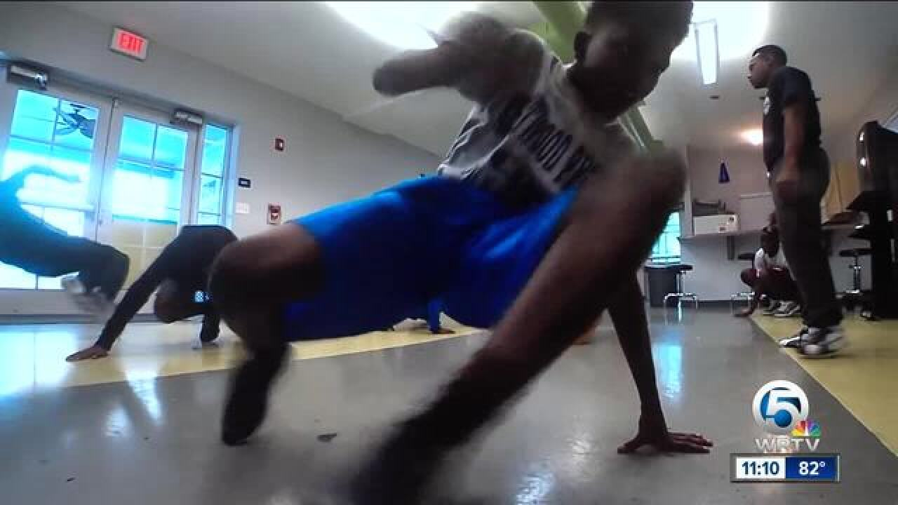 WPB officer leads breakdance crew