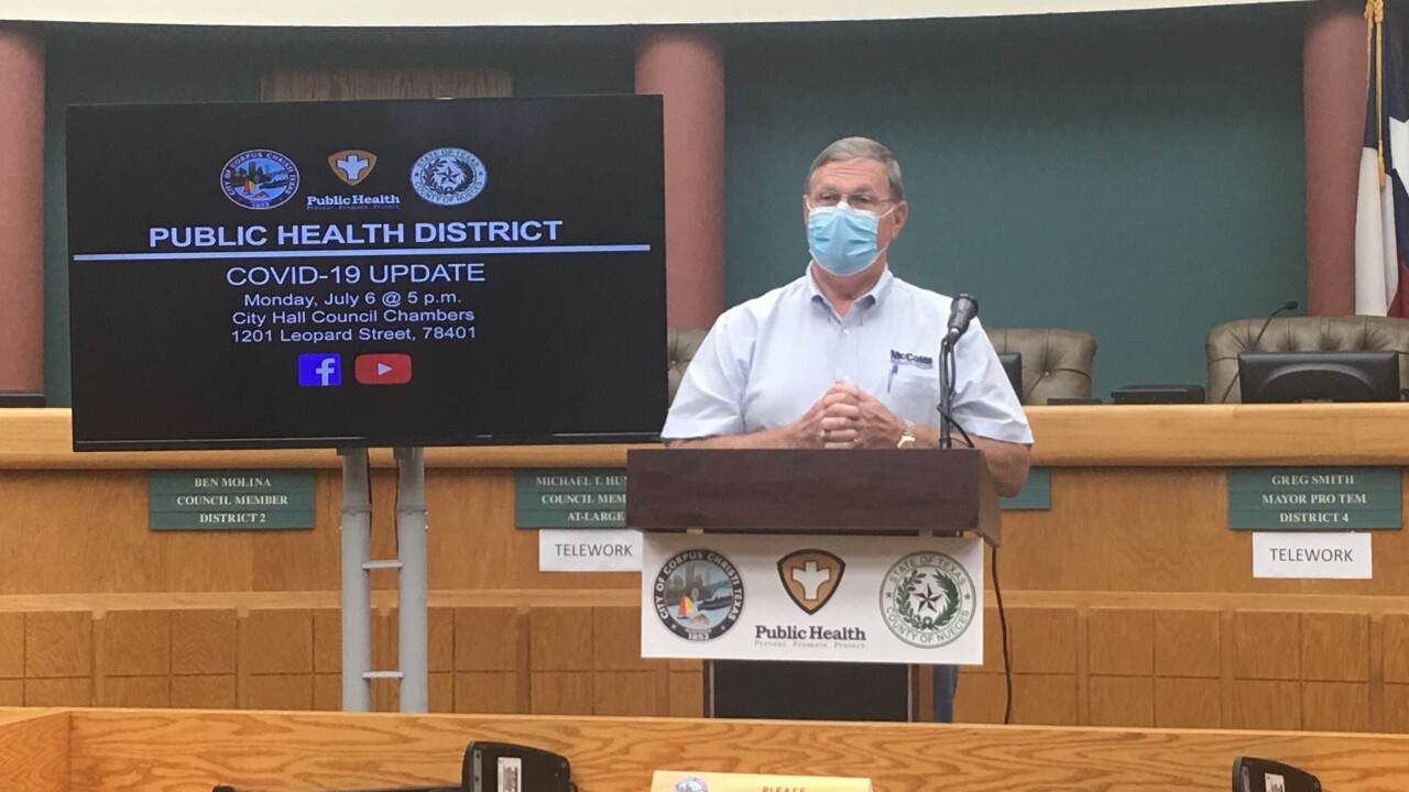 WATCH LIVE: Local officials provide COVID-19 update