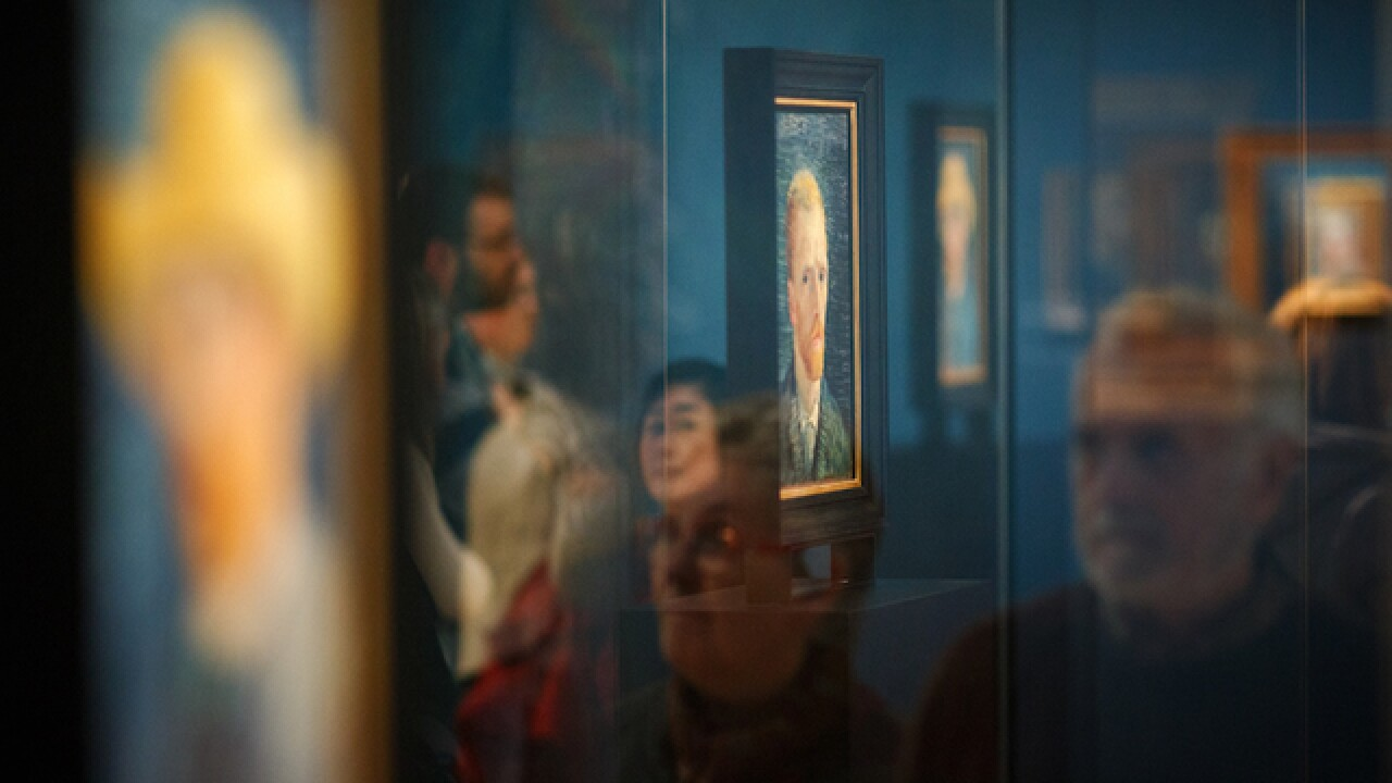 2 Van Gogh paintings recovered by Italian anti-Mafia police