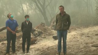 California Gov. Newsom signs bill allowing inmates to become firefighters, as wildfires rage