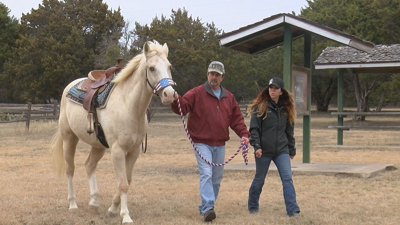 Hoofbeats for Heroes: horse therapy for Soldiers, Veterans, families