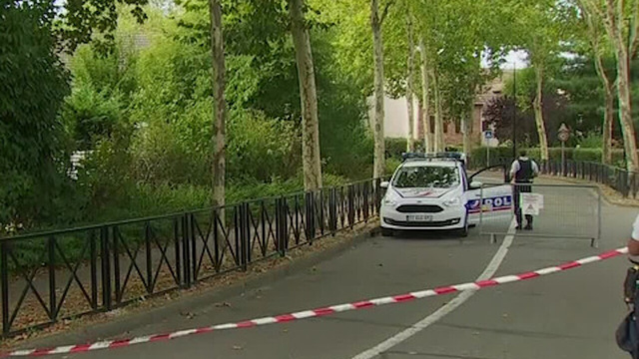 Two dead, one injured in knife attack near Paris